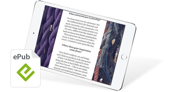 Leer ePubs iPad