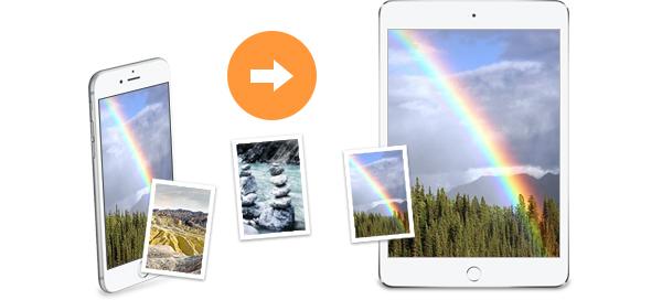 Pasar fotos iPhone para iPad FoneTrans