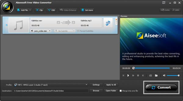 Paso 4 Convertir audios WAV a MP3