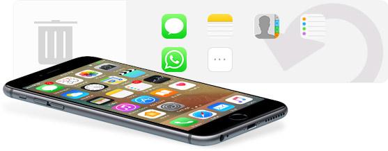 Recuperar textos deletados iPhone