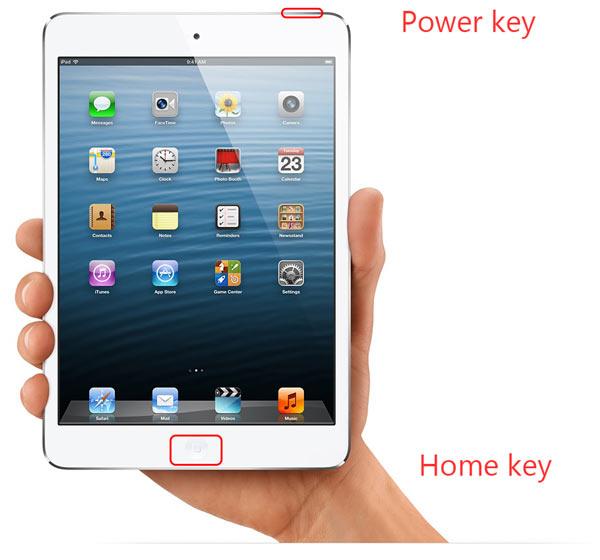 iPad desabilitado reiniciar modo de recuperação