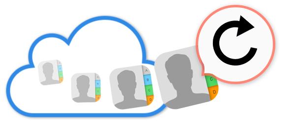 Recuperar contactos iCloud
