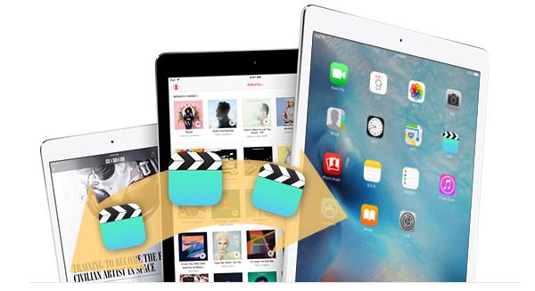 Transferir videos iPad a otro