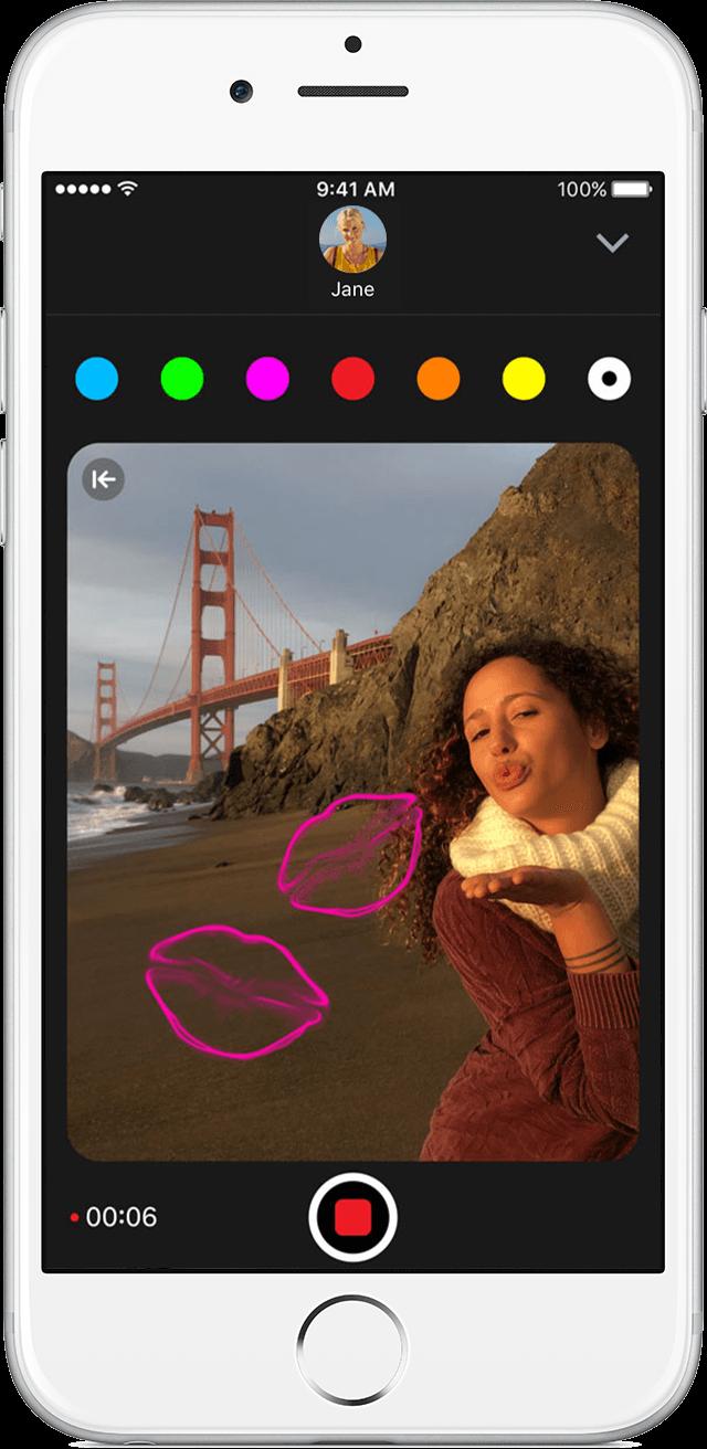 Adicionar esbozo foto video