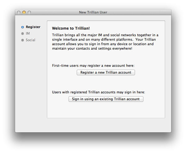 Alternativas Facebook Messenger Trillian