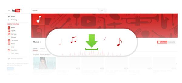 Baixar áudio YouTube