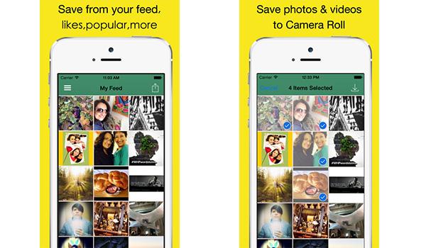 Baixar fotos Instagram Instaboard passo 2