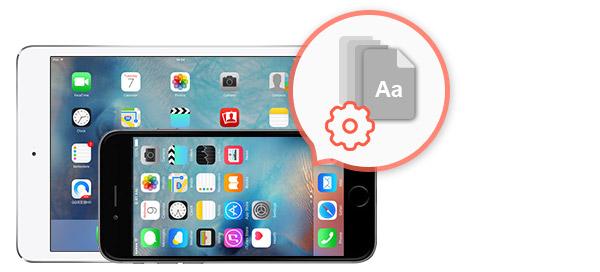 Cambiar fuente iPhone