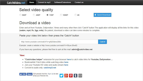 Capturar videos CatchVideo