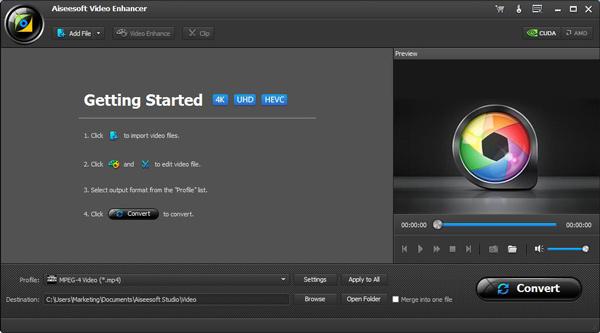Combinar videos Video Converter Ultimate VCU Paso 1