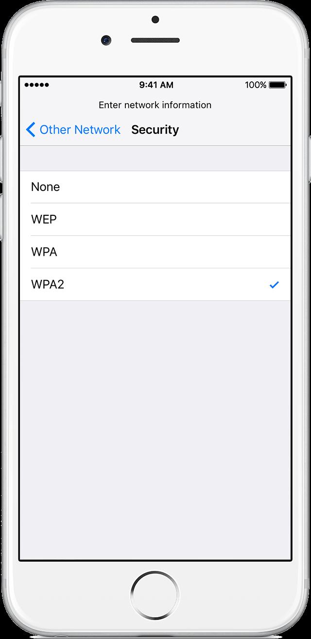 Conectar rede wi-fi oculta protocolo