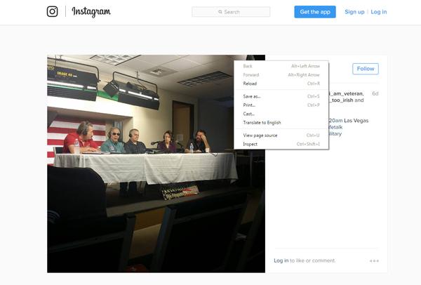Descargar fotos Instagram código fuente paso 1