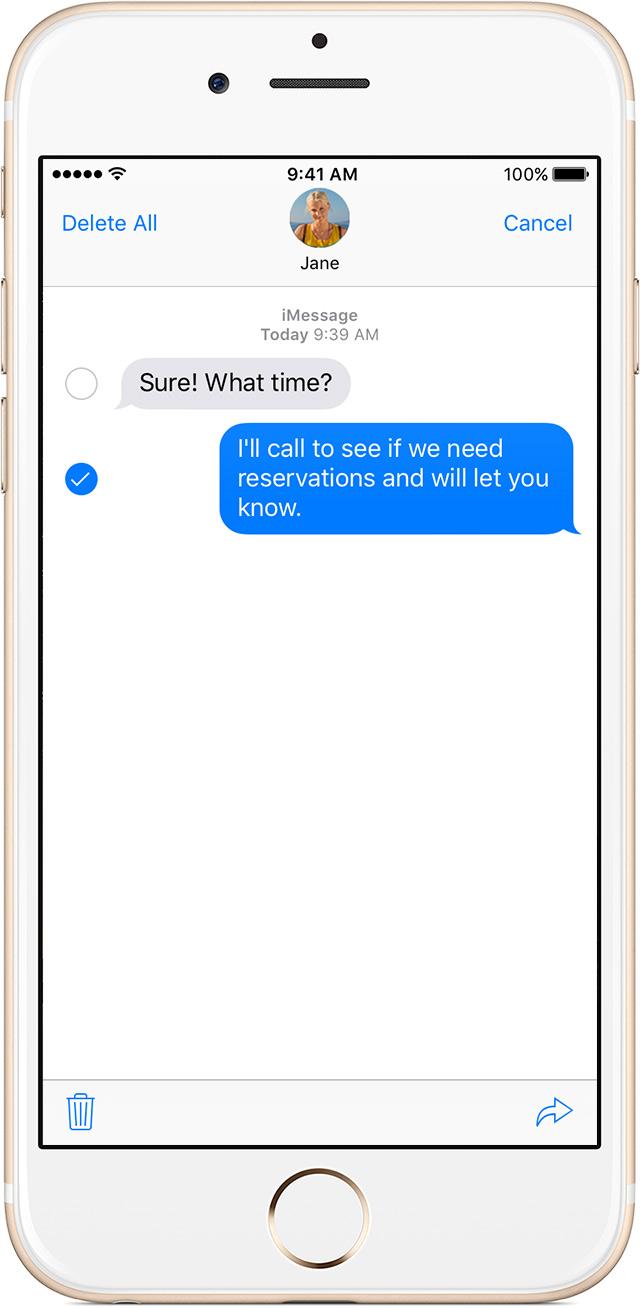 Encaminhar mensagem iPhone 2