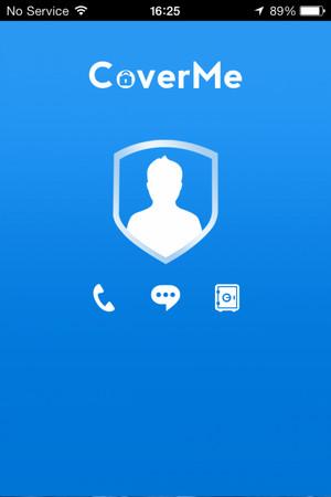 Esconder mensajes CoverMe iPhone