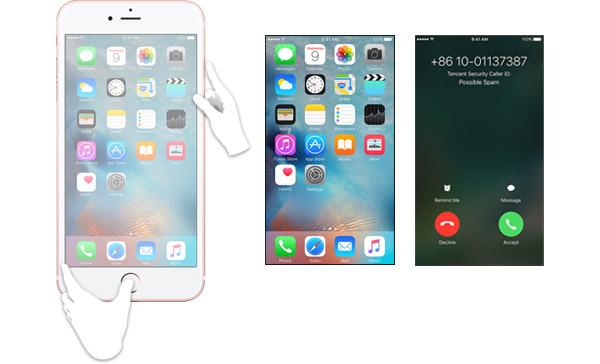 Tirar screenshots iPhone