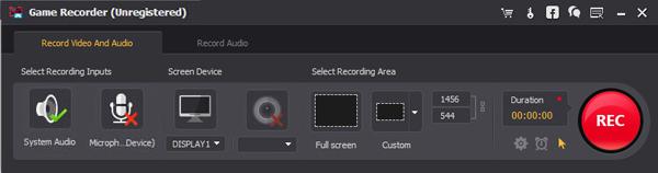Grabar gameplay Pokemon Screen Recorder paso 2