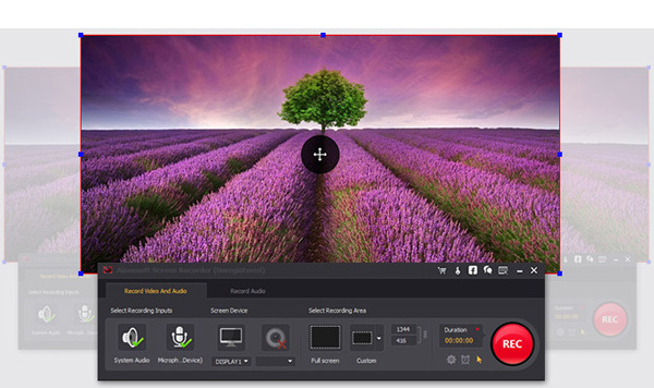 Gravar vídeos Screen Recorder