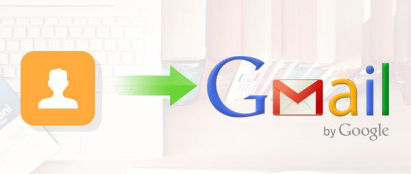 Importar contatos Gmail