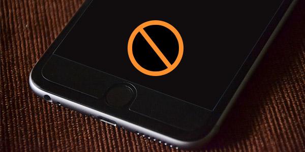 Soluciones pantalla negra iPhone