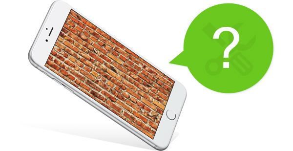 iPhone travado