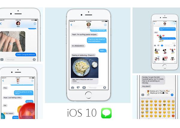 Mensajes iOS 10