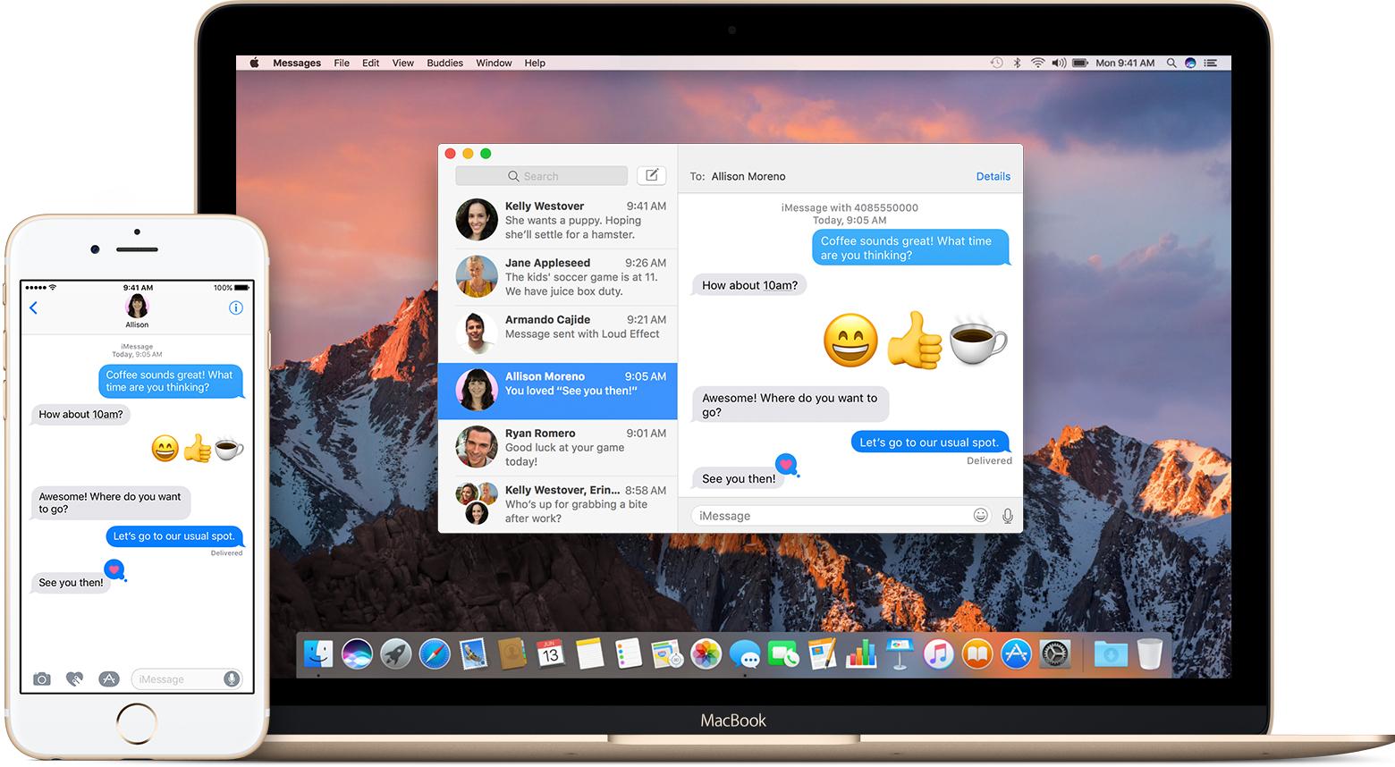 Mensajes Mac