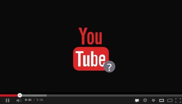 Arreglar pantalla negra YouTube
