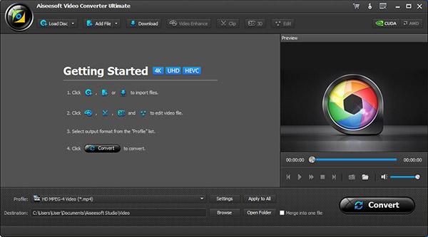 Convertir DVD a MP4 paso 1