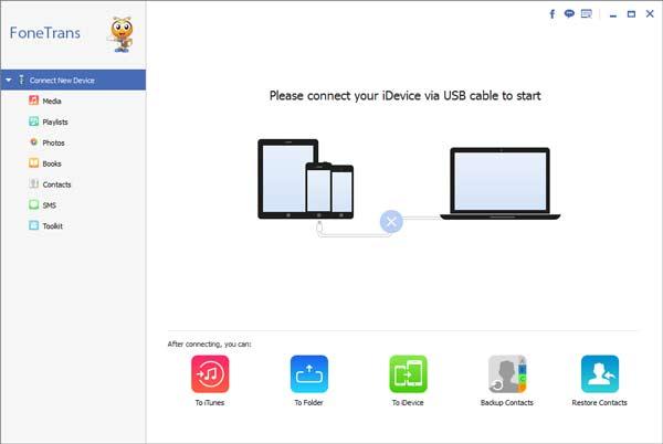 Paso 1 transferir listas de reproducción iPhone