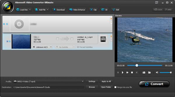Convertir DVD a MP4 paso 3