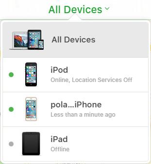 Restaurar iPod iCloud paso 2