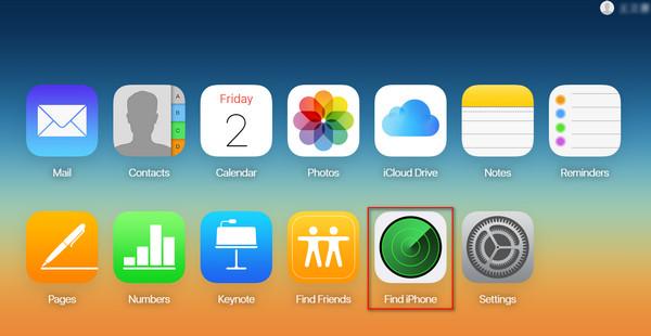 Restaurar iPod iCloud passo 1