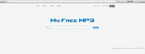 Sites baixar músicas MyFreeMP3