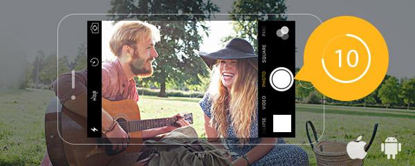 Temporizado câmera Android iPhone