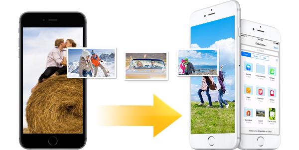 Transferir fotos iPhone para outro