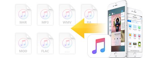Transferir listas de reproducción iPhone