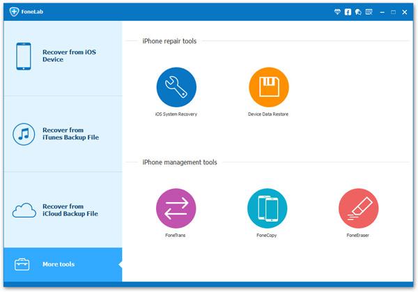 Recuperar datos a través del iCloud Aiseesoft FoneLab