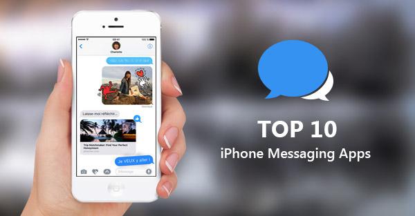 Apps mensajes en el iPhone
