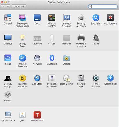 Backup fotos Mac para iCloud passo 1