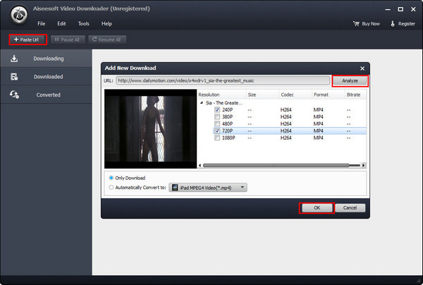 Converter Dailymotion MP3 VCU passo 2
