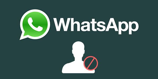 Bloquear a alguien en WhatsApp