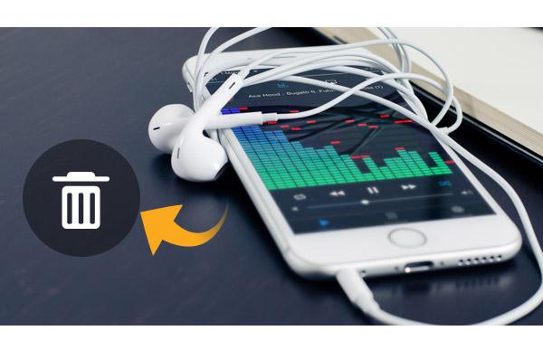 Borrar canciones iPhone