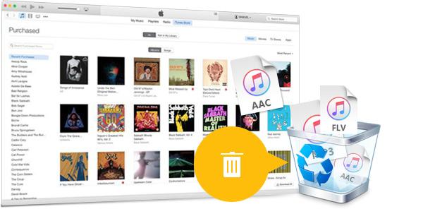 Borrar canciones iTunes