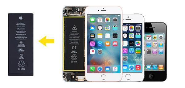 Cambiar batería iPhone