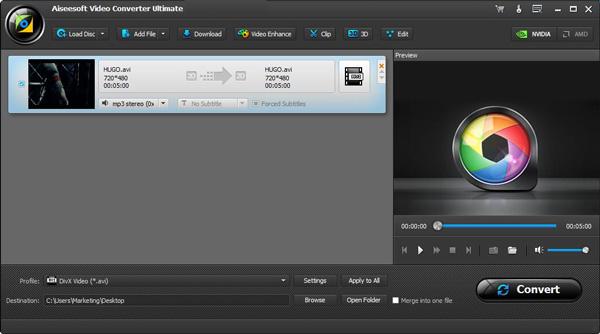 Converter DivX Video Converter Ultimate passo 2