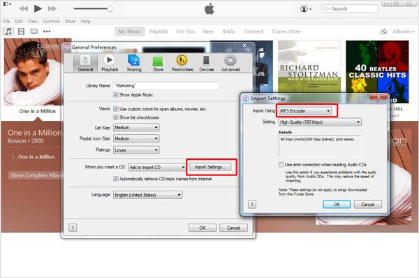 Converter músicas iTunes passo 2