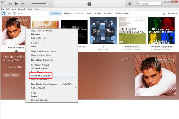 Converter músicas iTunes passo 7