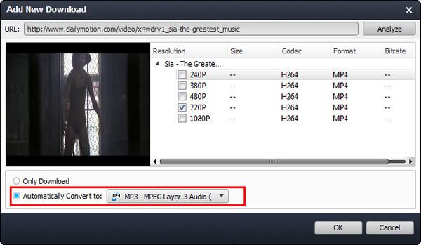 Converter vídeo automaticamente VCU