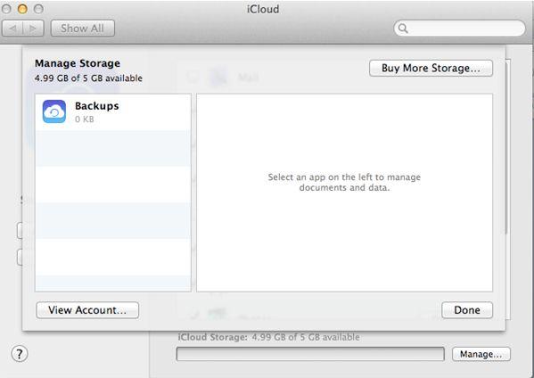 Copia de seguridad fotos Mac para iCloud paso 3