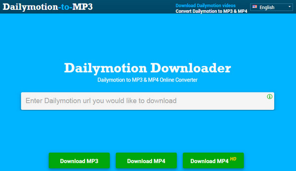 Baixar Dailymotion MP3 online